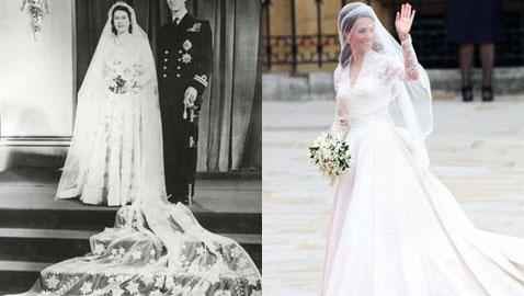 بالصور.. إليكم أبرز وأجمل فساتين الزفاف الملكية عبر الزمن