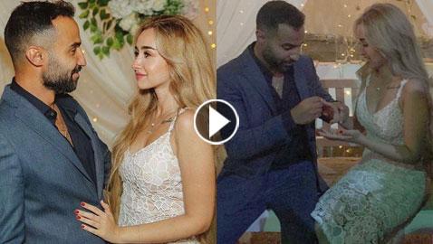 أول فيديو وصور من حفل خطوبة أحمد فهمي وهنا الزاهد