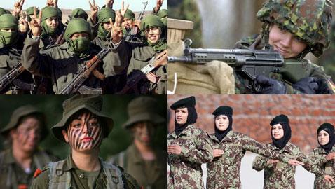 مجندات ومقاتلات بالجيش.. من الرقة والأنوثة إلى فوهات البنادق