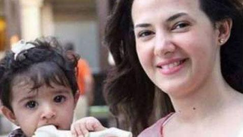 تسريب صورة (كايلا) ابنة دنيا سمير غانم لأول مرة.. فهل تشبهها؟