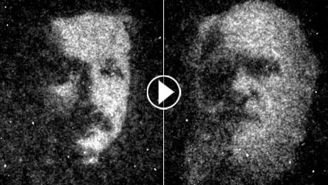 فيديو وصور: تصميم أصغر القطع الفنية المجهرية باستخدام البكتيريا!