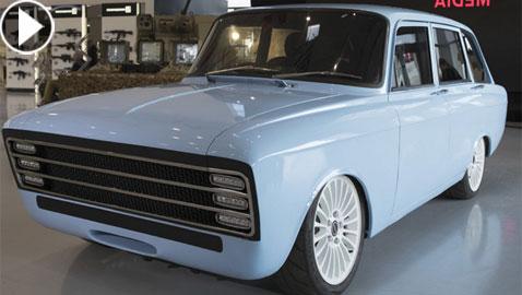 بالفيديو والصور: نموذج أول سيارة كهربائية خارقة في روسيا