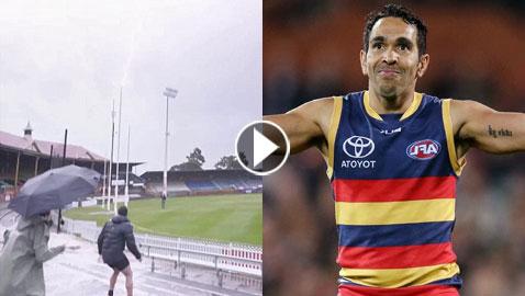 فيديو مذهل.. لاعب كرة قدم أسترالي يضرب البرق بكرته