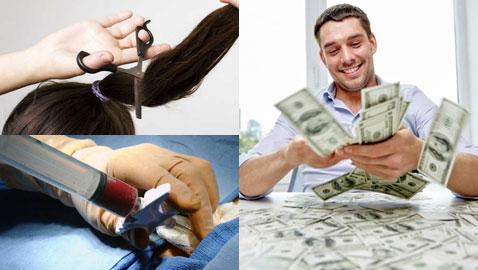 إليكم 9 طرق للحصول على المال من خلال أعضاء الجسم