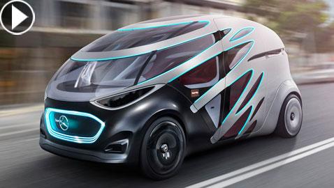 مرسيدس تستعرض سيارتها المستقبلية التي ستصبح من أهم المركبات في العالم