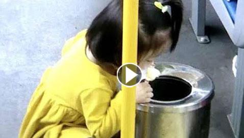 فيديو لطفلة صينية داخل حافلة يثير ضجة على مواقع التواصل
