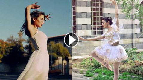 بالفيديو.. راقصة باليه سورية تبدد هموم دمشق القديمة برقصها بمعالمها وأسواقها