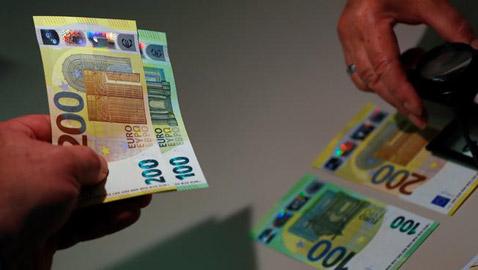 البنك المركزي الأوروبي يقدم: أوراق مالية جديدة من فئة 100 و200 يورو