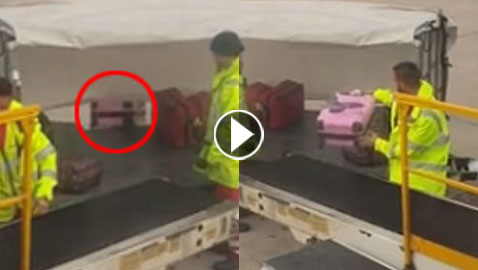 فيديو يثير الغضب: هكذا ترمى حقائب المسافرين في المطارات
