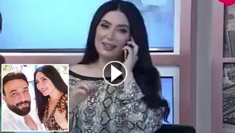 فيديو صادم: عبير صبري تقطع مقابلتها على الهواء لترد بخوف على زوجها العصبي