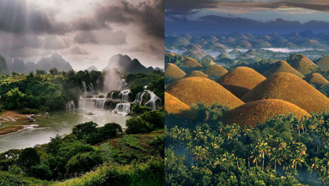 صور عجائب طبيعية ساحرة في قارة آسيا