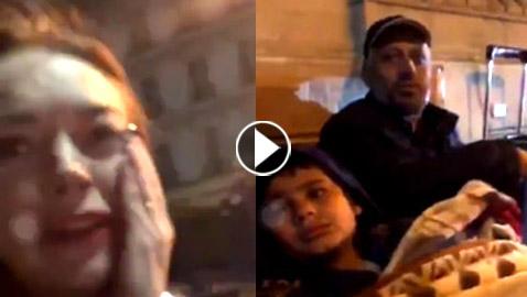 فيديو صادم: سورية تصفع ليندسي لوهان على وجهها فى الشارع بموسكو