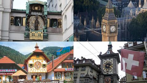 بالصور.. تعرفوا على أجمل وأفخم ساعات القارة الأوروبية