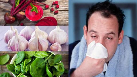 خضار وفواكه تحميك في الشتاء من نزلات البرد وتحافظ على صحة الجسم