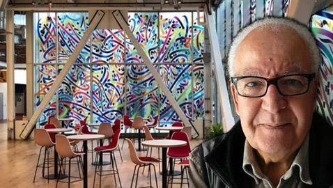 لوحة لرسّام تونسي يختارها فيسبوك لتزين جداريّة