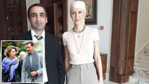 صورة جديدة صادمة لزوجة الرئيس السوري أسماء الأسد وقد تساقط شعرها بسبب السرطان