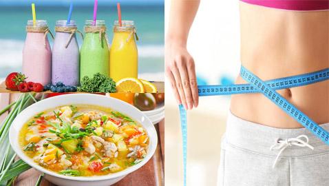 دراسة حديثة تؤكد: أفضل دايت لتنزيل الوزن هو المشروبات والحساء فقط!