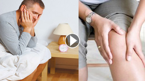 متلازمة تململ الساقين تثير الأفكار الانتحارية!