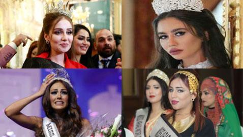 10 ملكات جمال عالميات تم سحب اللقب منهن لاسباب غريبة.. نصفهن عربيات!