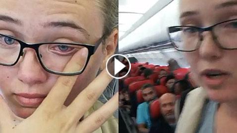 بعد الفيديو البطولي.. الشابة السويدية التي أوقفت ترحيل مهاجر أفغاني تواجه السجن!