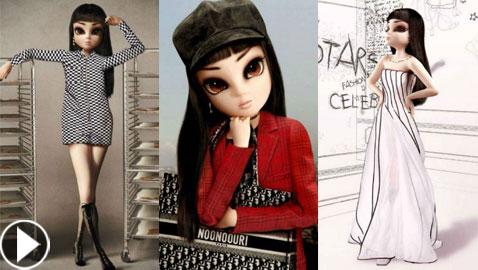 من هي نونوري؟ تعرفوا على الفتاة الافتراضية الوهمية التي اقتحمت عالم الموضة والأزياء!