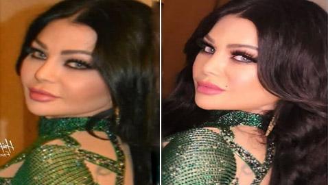 صور هيفاء وهبي بنفس الفستان عام 2016 والآن.. أيهما أكثر جمالا؟
