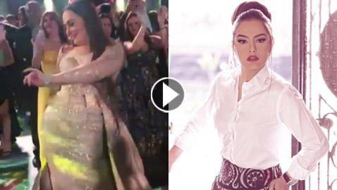 فيديو وصور: النجمة شريهان ترقص في حفل زفاف على (شو حلو) و(لو اتساب)
