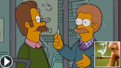 فيديو: مسلسل سيمبسون الكرتوني توقع تشريع الماريغوانا في كندا قبل 13 عاما