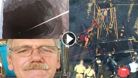 إنقاذ رجل أمريكي سقط في حفرة عميقة وبقي فيها لمدة يومين مع الثعابين!