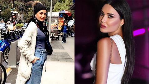 بالصور: بنطال سيرين عبد النور يفضح وزنها الحقيقي