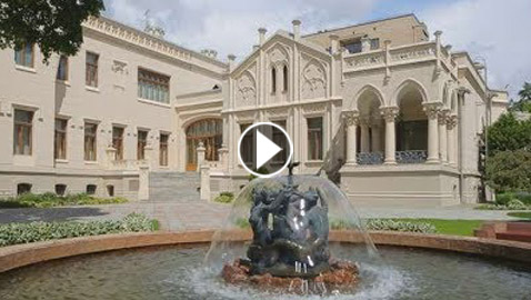 بالفيديو: تعرفوا على أسرار قصر استقبالات وزارة الخاريجة الروسية الأجمل بالعالم