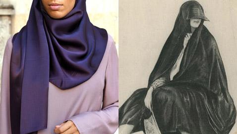 الحجاب.. رمز وفن عبر التاريخ ومتحف فيينا يعرض صور تاريخية له