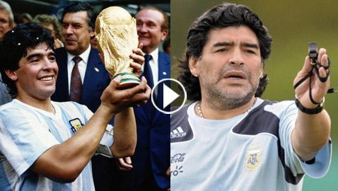 في عيد ميلاده الـ58: نبذة عن ساحر كرة القدم الأرجنتيني دييغو مارادونا