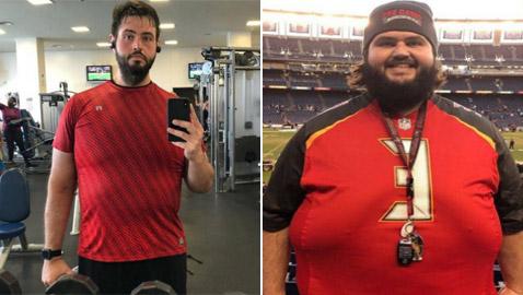 بعد أن وصل وزنه إلى 245 كيلو.. أمريكي يخسر 143 كيلو من أجل خطيبته!
