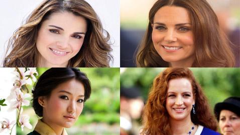 بالصور.. تعرفوا على أجمل زوجات رؤساء وملوك العالم
