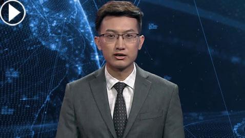 سابقة عالمية.. أول مذيع ذكاء اصطناعي يقدم نشرة إخبارية
