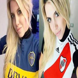 قميص حسناء الأرجنتين يثير الجدل قبل نهائي كأس ليبرتادوريس