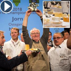فيديو وصور: إليكم الجبن الأفضل الفائز بمسابقة أفضل نوع جبن في العالم