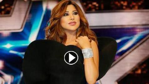 النجمة اللبنانية نجوى كرم تعترف بالفيديو باجراء عملية تجميل لأنفها  ..