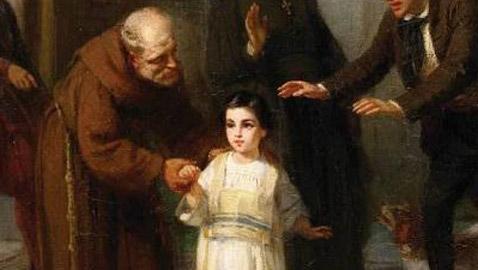 طفل يهودي أحرج البابا وتسبب في أزمة دولية!!