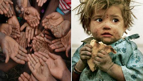 أكثر الدول في العالم تعاني من الجوع
