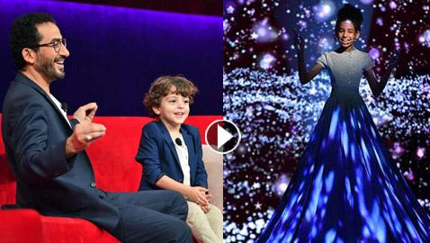 نجوم صغار مع أحمد حلمي: مطربة، شاعرة، مذيع، ملاكم وشبيهة نيللي كريم