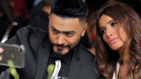 بعد فيلم (كابتن هيما): تامر حسني يلتقي مع زينة من جديد بعد 11 عاما