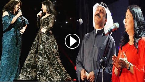 بالفيديو: في يوم ميلادها، اليكم أهم دويتوهات خليجية قدمتها نوال الكويتية