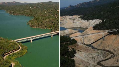 صور مثيرة صادمة.. شاهدوا التغيرات الجيوغرافية للكوكب بسبب الجفاف!