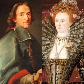 علاقة حميمة سرية بين الملكة إليزابيث الأولى (العذراء) وسفير فرنسي