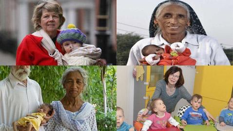 أمهات أنجبن أطفالهن فوق الـ60 عاما: أكبرهن هندية أنجبت في سن 72
