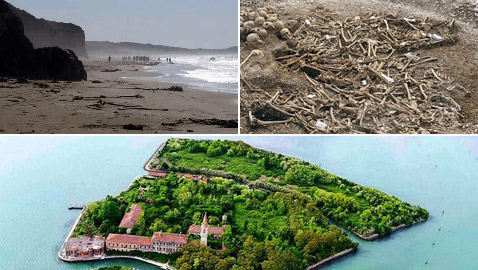 جزيرة بوفيجليا: الجزيرة الأكثر رعبا بالعالم مليئة بالجثث وتربتها رماد بشري!