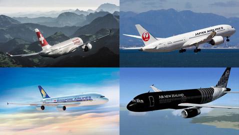 أفضل 10 شركات طيران في العالم لهذا العام.. والثانية شركة عربية!