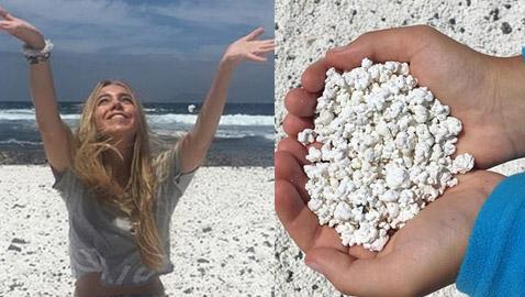 شاطئ من عالم الخيال.. صور مدهشة لشاطئ الفشار في جزر الكاناري